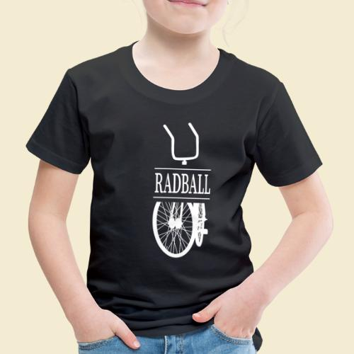 Radball | Retro White - Kinder Premium T-Shirt