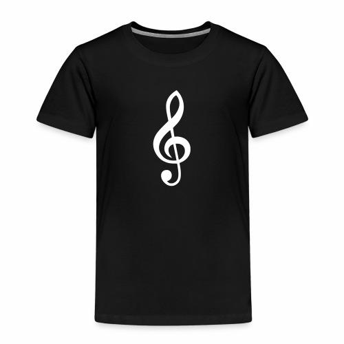 Notenschlüssel Symbol Notenschlüßel Zeichen Musik - Kinder Premium T-Shirt