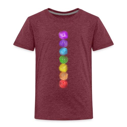 linea chakra - Maglietta Premium per bambini
