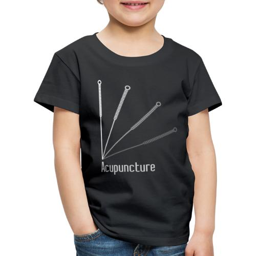 Acupuncture Eventail (logo blanc) - T-shirt Premium Enfant