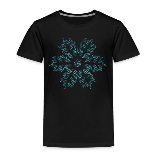 Schnee Stern, Weihnachten - Kinder Premium T-Shirt