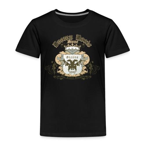 Crown Roots - Kinder Premium T-Shirt