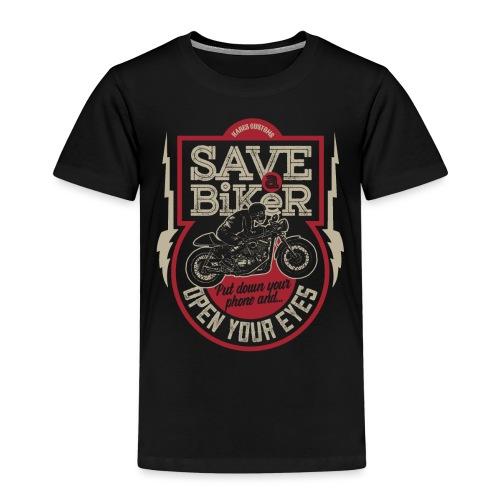 Save A Biker - Kids' Premium T-Shirt