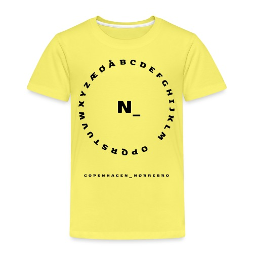 Nørrebro - Børne premium T-shirt