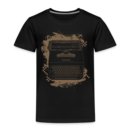 Typewriter - T-shirt Premium Enfant