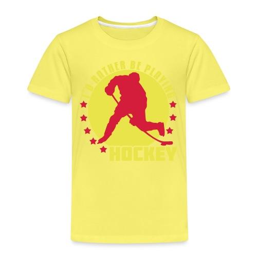 id_rather_be_playing_hock - Kids' Premium T-Shirt