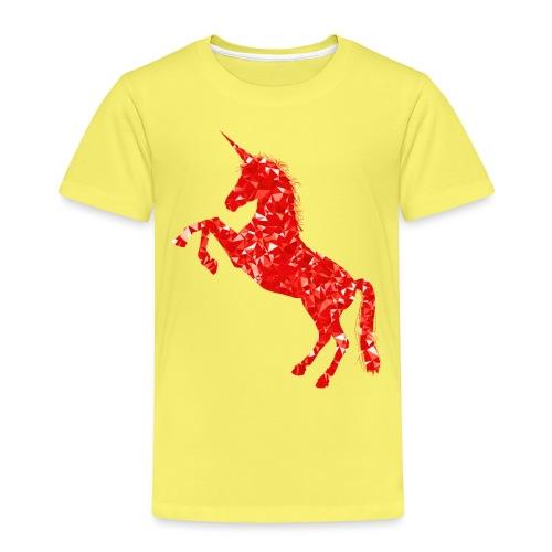 unicorn red - Koszulka dziecięca Premium