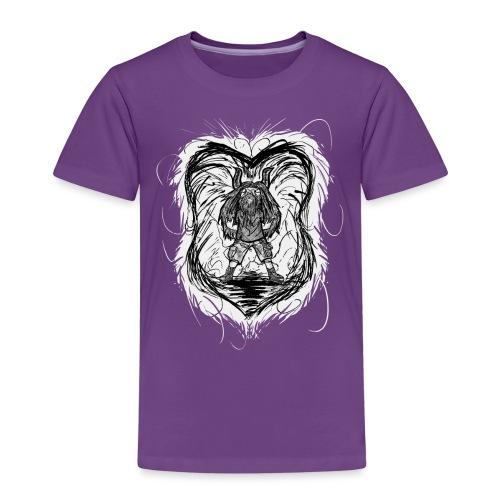Horned Metalhead - Kids' Premium T-Shirt