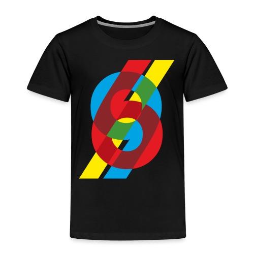 colorful numbers - Kids' Premium T-Shirt