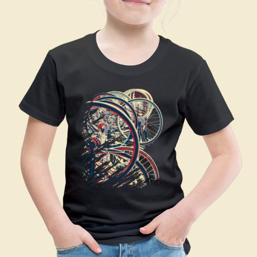 Radball   Cycle Ball Break 1 - Kinder Premium T-Shirt