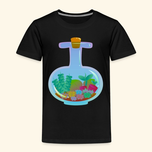 Bottled Succulents - Kids' Premium T-Shirt