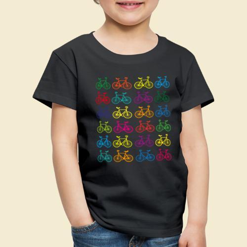 Kunstrad | Artistic Cycling Color - Kinder Premium T-Shirt