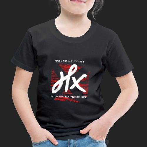 welcome to my human experience - T-shirt Premium Enfant