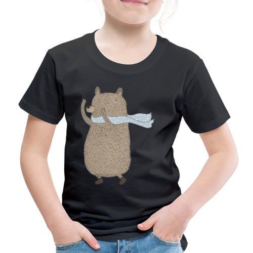 Fluffy Cuddle Bear by #OneCreativeArts - Kinder Premium T-Shirt