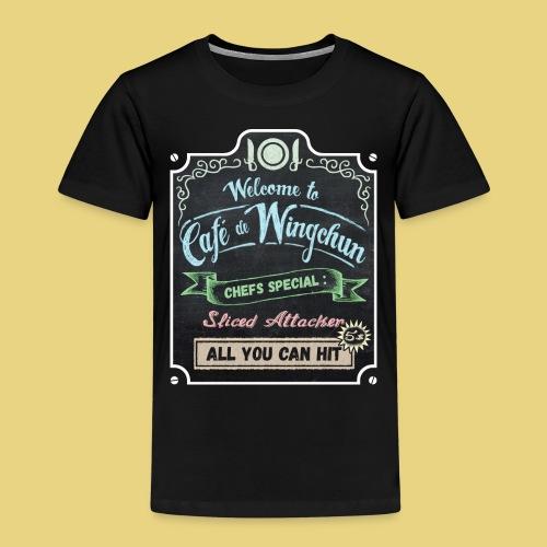 cafe de wingchun - Kids' Premium T-Shirt