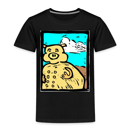 vark color - Kinderen Premium T-shirt