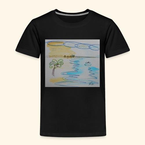 Südseehai - Kinder Premium T-Shirt