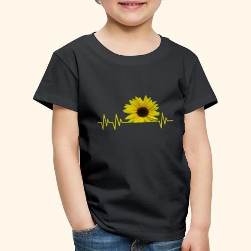 sunflowerbeat - zauberhafte Sonnenblume - Kinder Premium T-Shirt