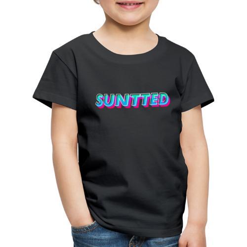Suntted Typo Modern - T-shirt Premium Enfant