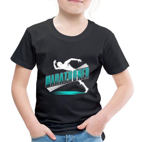Marathoner - Kinder Premium T-Shirt