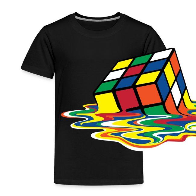 Rubik's Cube Melting Cube