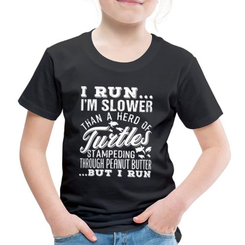 Run Turtles As Fast As We Can - Kinder Premium T-Shirt
