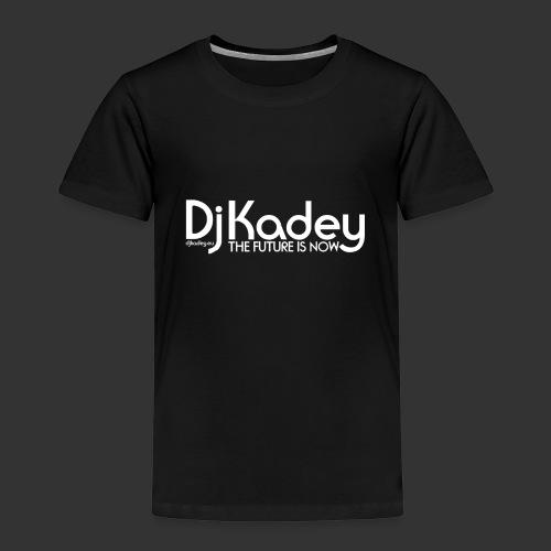 White Dj Kadey Logo - T-shirt Premium Enfant