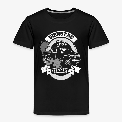 Dienstag for Diesel Fridays for Hubraum Klimakrise - Kinder Premium T-Shirt