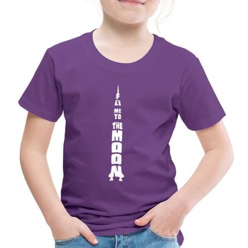 Fly me to the moon - Kinderen Premium T-shirt