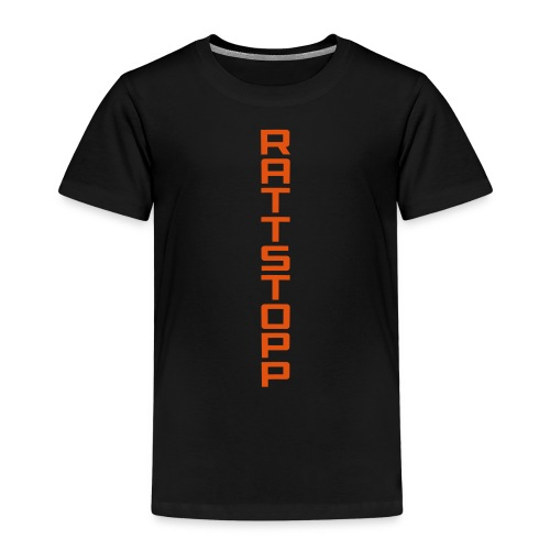 Rattstopp Avlång - Premium-T-shirt barn