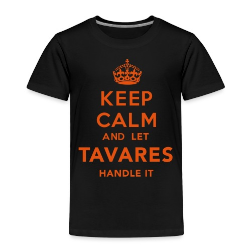 Keep Calm Tavares - Premium-T-shirt barn