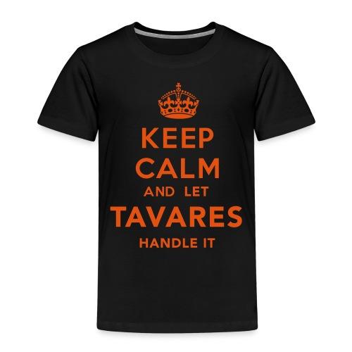 Keep Calm Tavares - Premium-T-shirt barn