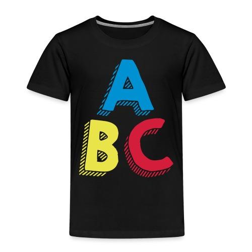 ABC - T-shirt Premium Enfant
