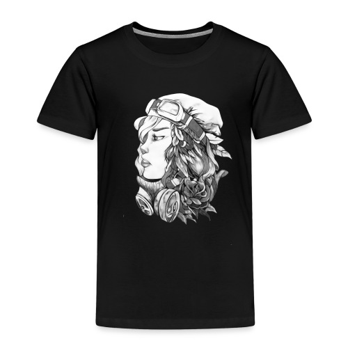 Beauty BW - Camiseta premium niño