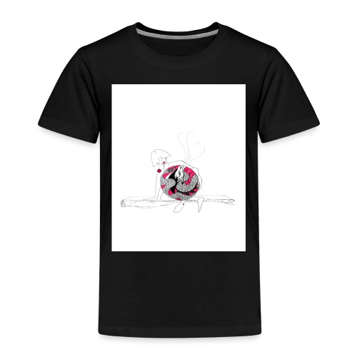 red lady - Kids' Premium T-Shirt