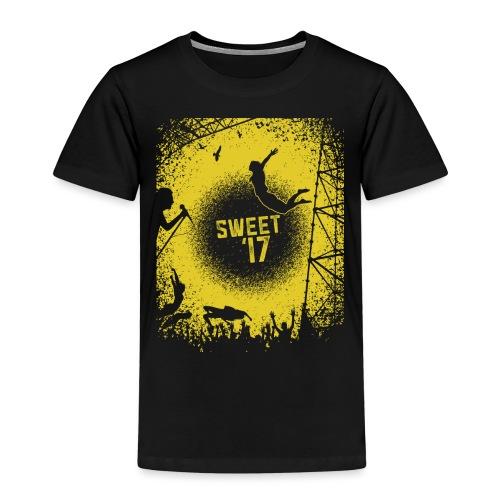 Sweet '17 Festival Summer -gelb - Kinder Premium T-Shirt