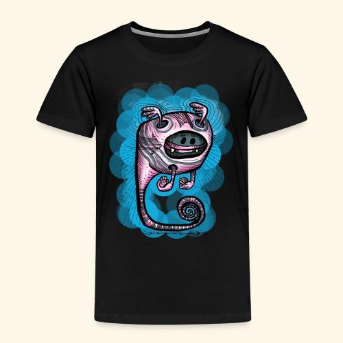 spacebat #1 Blue - Kinder Premium T-Shirt