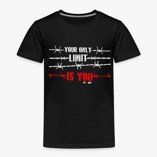 Tu eres tu propio límite - Camiseta premium niño