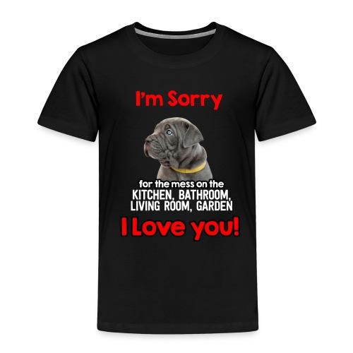 Hund Cane Corso Entschuldigung Tut Mir Leid - Kinder Premium T-Shirt
