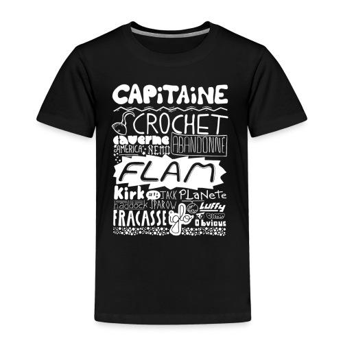 capitaine-blanc Tee shirts - T-shirt Premium Enfant
