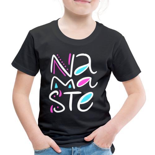 Namaste blanc - T-shirt Premium Enfant