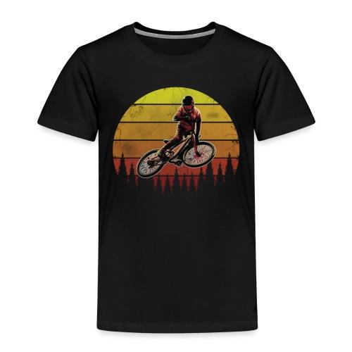 Mountainbike MTB Mountainbiker Mountainbikerin - Kinder Premium T-Shirt