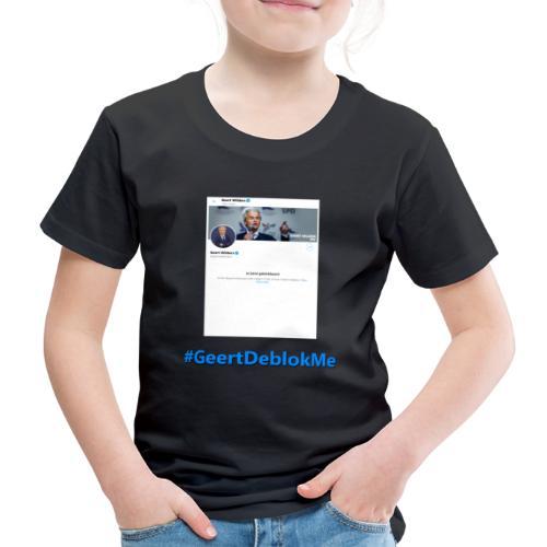 #GeertDeblokMe - Kinderen Premium T-shirt