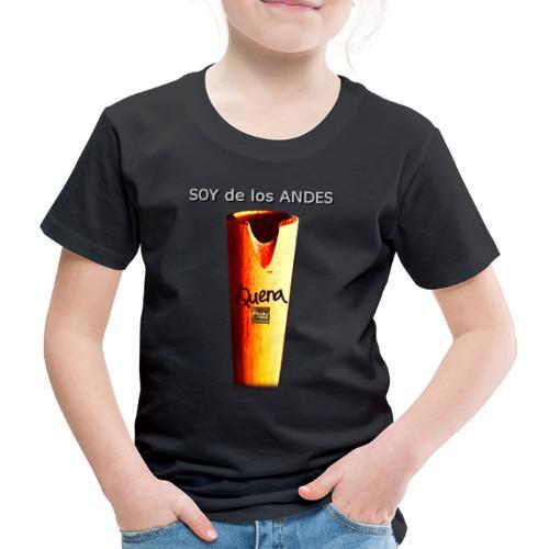 De los ANDES - Quena II - Camiseta premium niño
