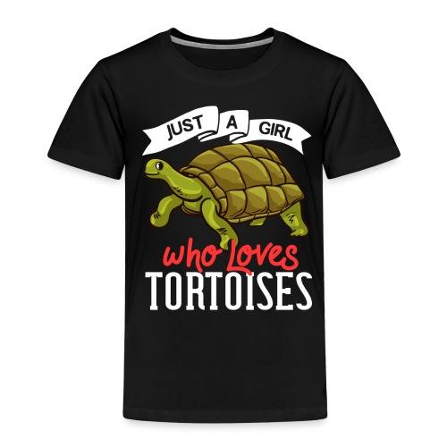 Landschildkröten Schildkröte Afrikanische Sulcata - Kinder Premium T-Shirt