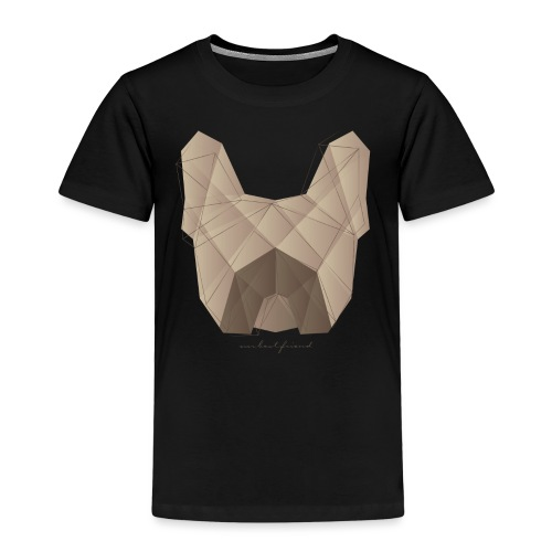 Geometric Frenchie fawn - Französische Bulldogge - Kinder Premium T-Shirt