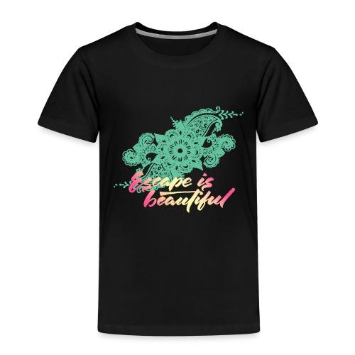 escape is beautiful - T-shirt Premium Enfant