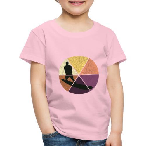 Wellenreiten - Kinder Premium T-Shirt