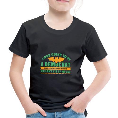 Ich wollte ein Demokrat zu Halloween sein - Kinder Premium T-Shirt