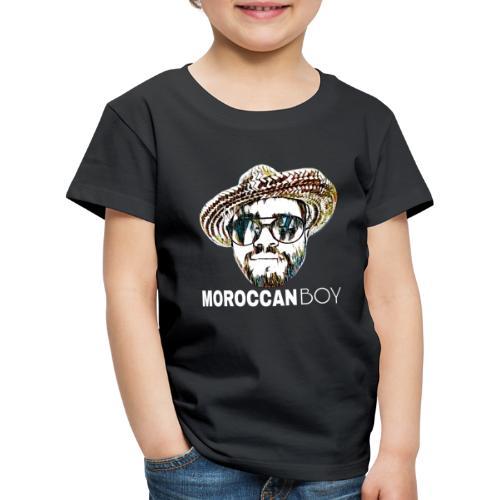 MOROCCAN BOY WHITE - T-shirt Premium Enfant